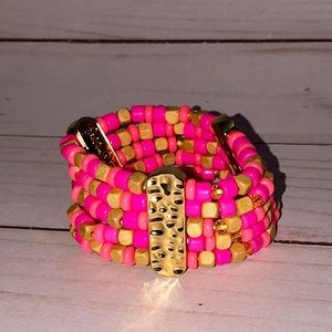 Lily Pulitzer bracelet beaded